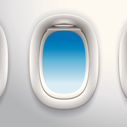 Airplane Window Clip Art, Vector Images & Illustrations.