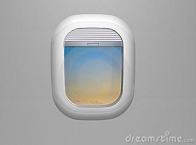 Airplane window clipart #19
