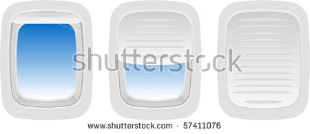Airplane window clipart #16