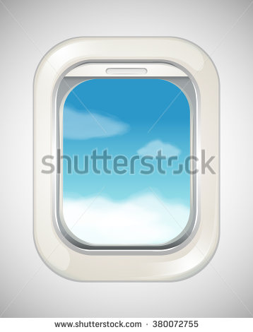 Airplane Window View Stock Vectors, Images & Vector Art.