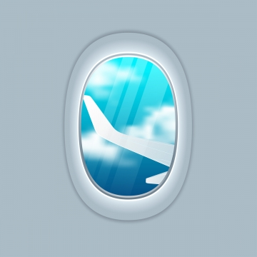 Airplane Window Png, Vector, PSD, and Clipart With Transparent.