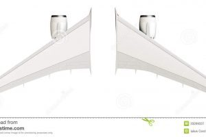 Airplane wings clipart » Clipart Portal.