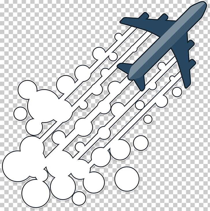 Airplane Chemtrail Conspiracy Theory Contrail PNG, Clipart.