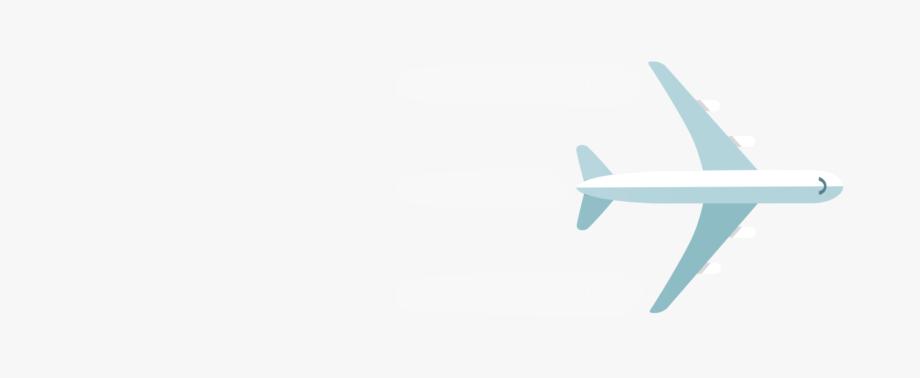 Plane Transparent Trail.