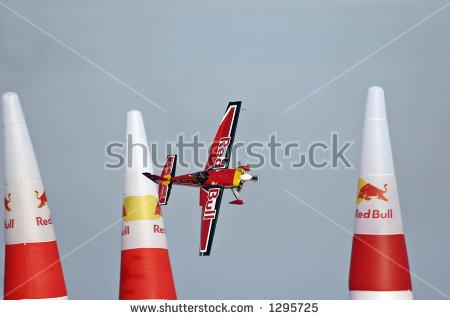 Red bull air race clipart.