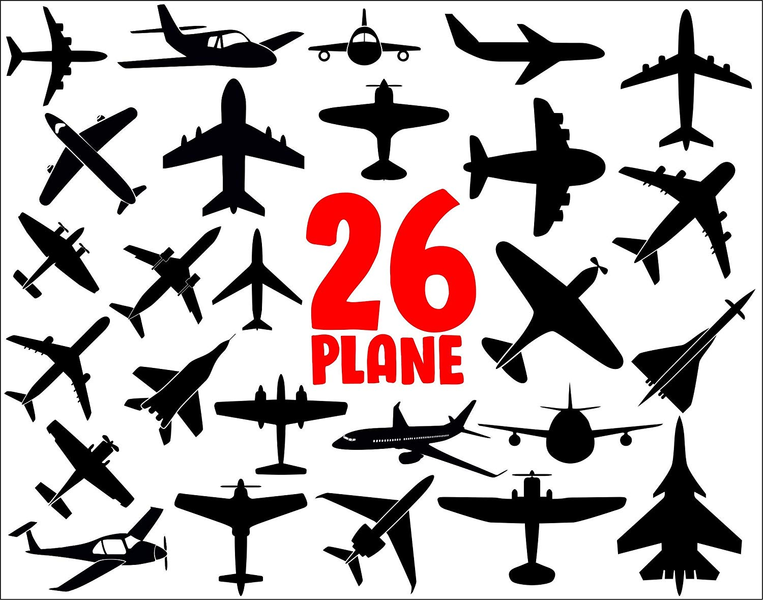 Amazon.com: plane svg.airplane svg,plane clipart,airplanes.