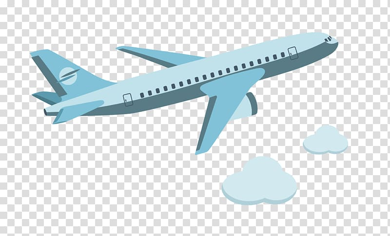 Airplane Aircraft Cartoon Icon, cartoon flying in the plane.