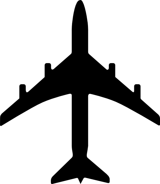 Transportation clipart airplane symbol, Transportation.