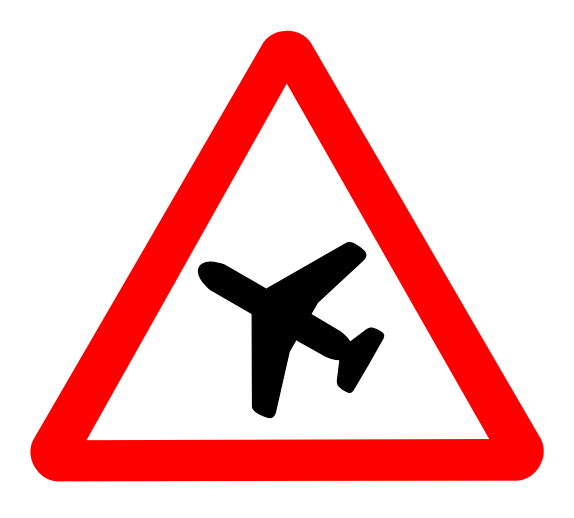 Airplanes Symbols Transportation Clipart.
