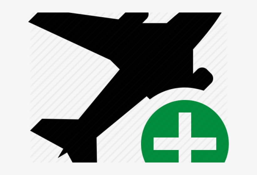 Transportation Clipart Airplane Symbol.