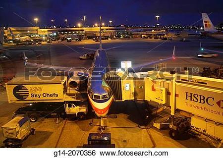 Stock Images of Florida, Miami, Miami International Airport, MIA.