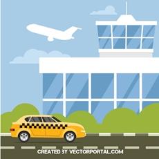 airport building clipart free vectors.