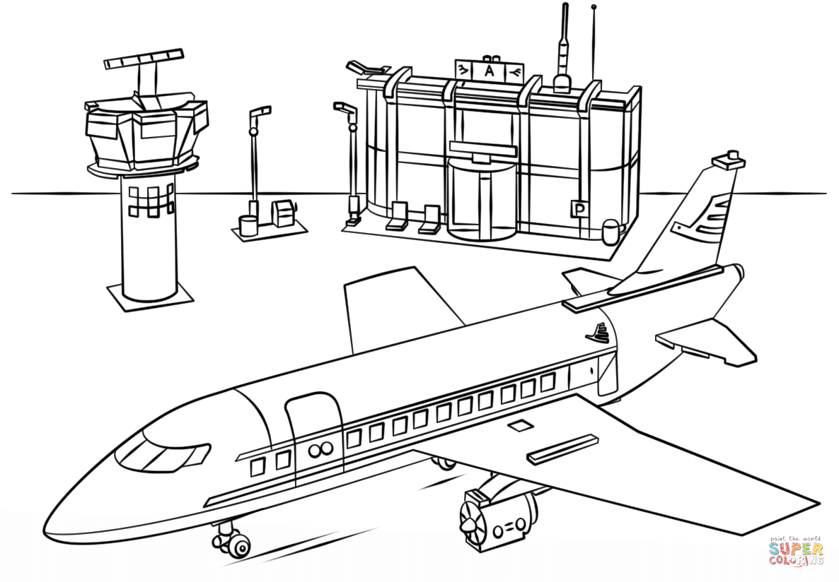 1538 Airport free clipart.