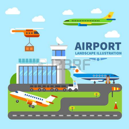 Airport Clipart Images & Clip Art Images #13976.