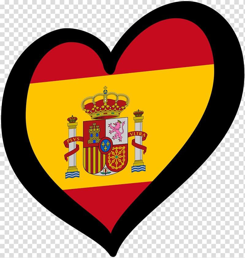 Flag of Spain Spanish Open University, spain transparent.