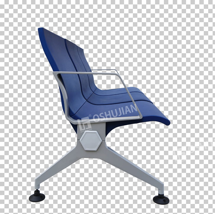 Airport seating Office & Desk Chairs plastic, seat PNG.