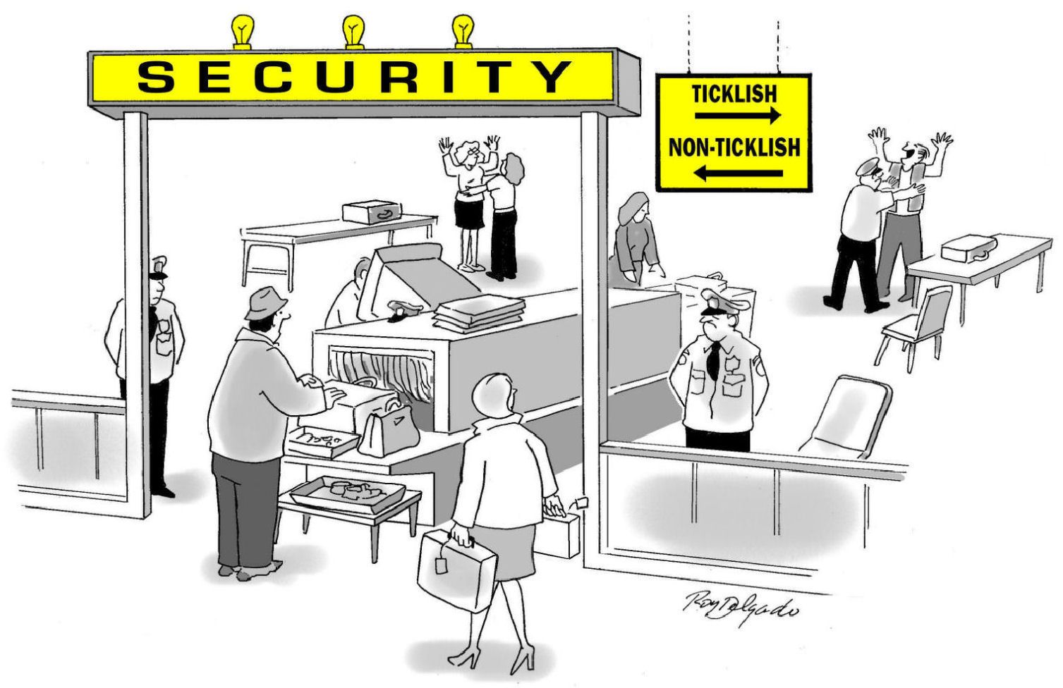 security airport clipart.