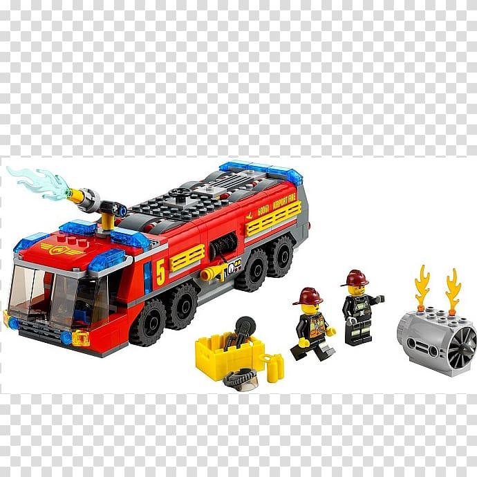 Lego City LEGO 60061 City Airport Fire Truck Amazon.com Lego.