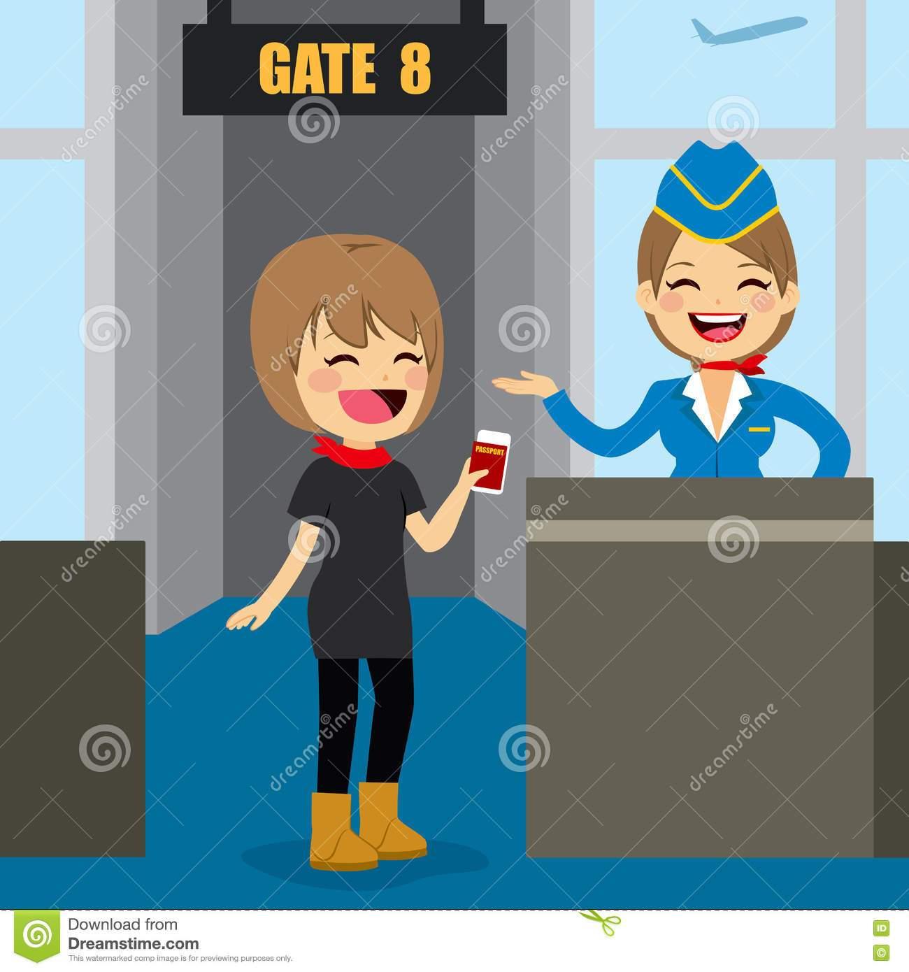 Airport gate clipart 3 » Clipart Portal.