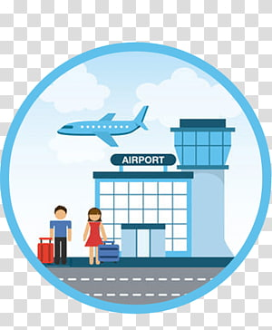 Airport transparent background PNG cliparts free download.
