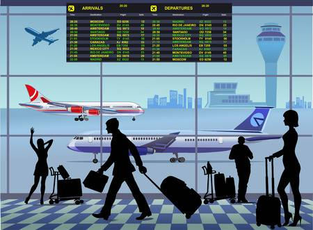 1,864 Airport Lounge Stock Vector Illustration And Royalty.