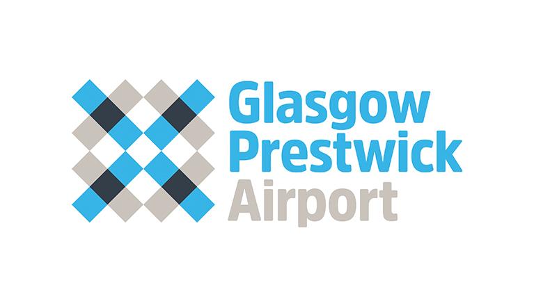 Glasgow Prestwick Airport Logo.