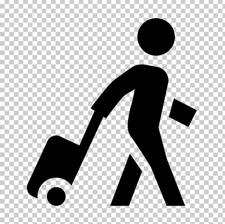 Passenger Computer Icons Travel Baggage Business PNG.