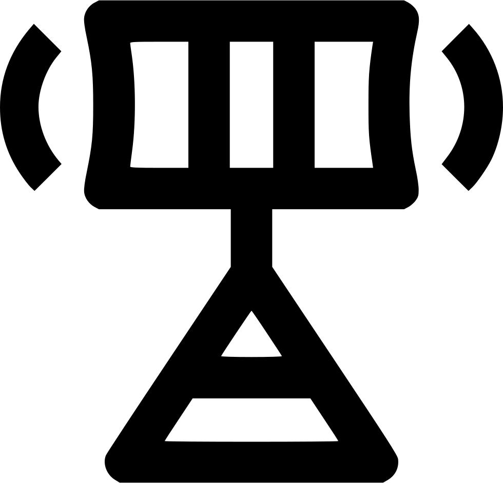 Airport Radar Svg Png Icon Free Download (#571772.