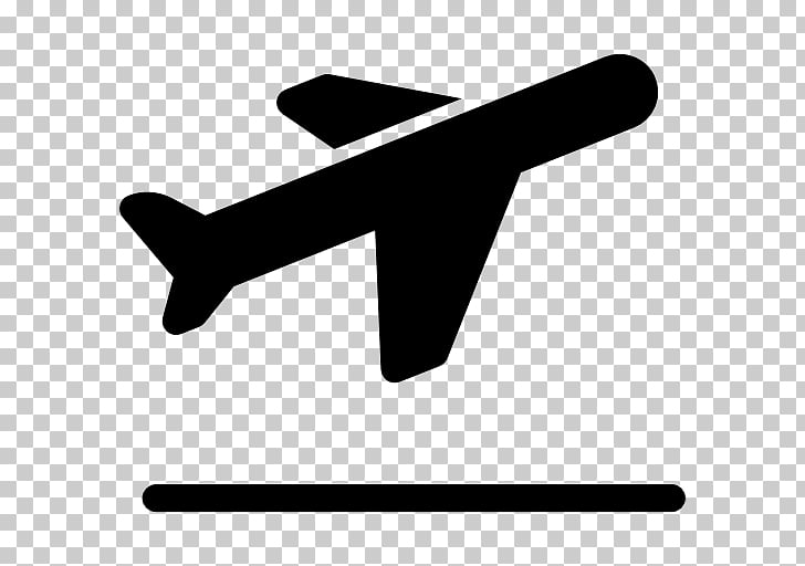 Airplane Flight Computer Icons Airport, take off PNG clipart.