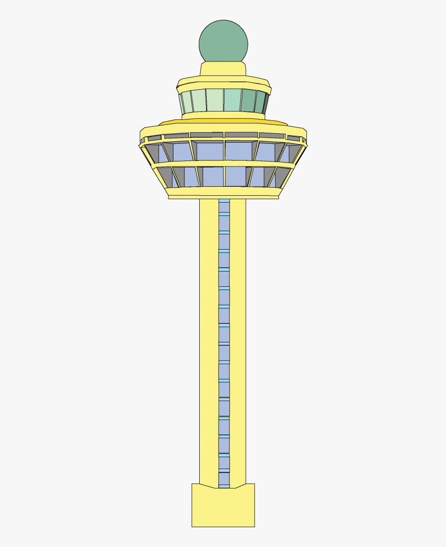 Changi Airport Control Tower Drawing , Free Transparent.