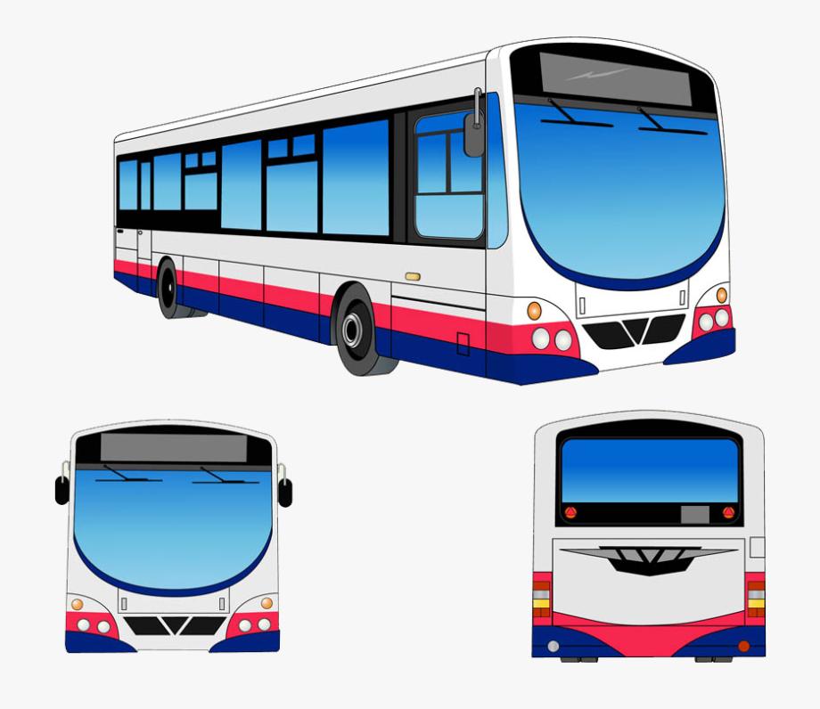 Transit Bus Public Transport Clip Art.