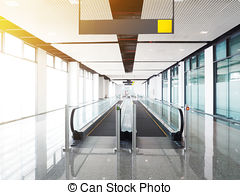Long moving walkway Stock Photo Images. 173 Long moving.