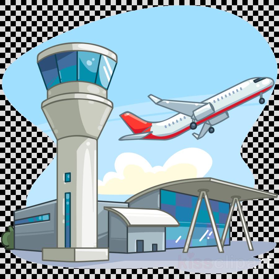 Airplane Cartoon clipart.