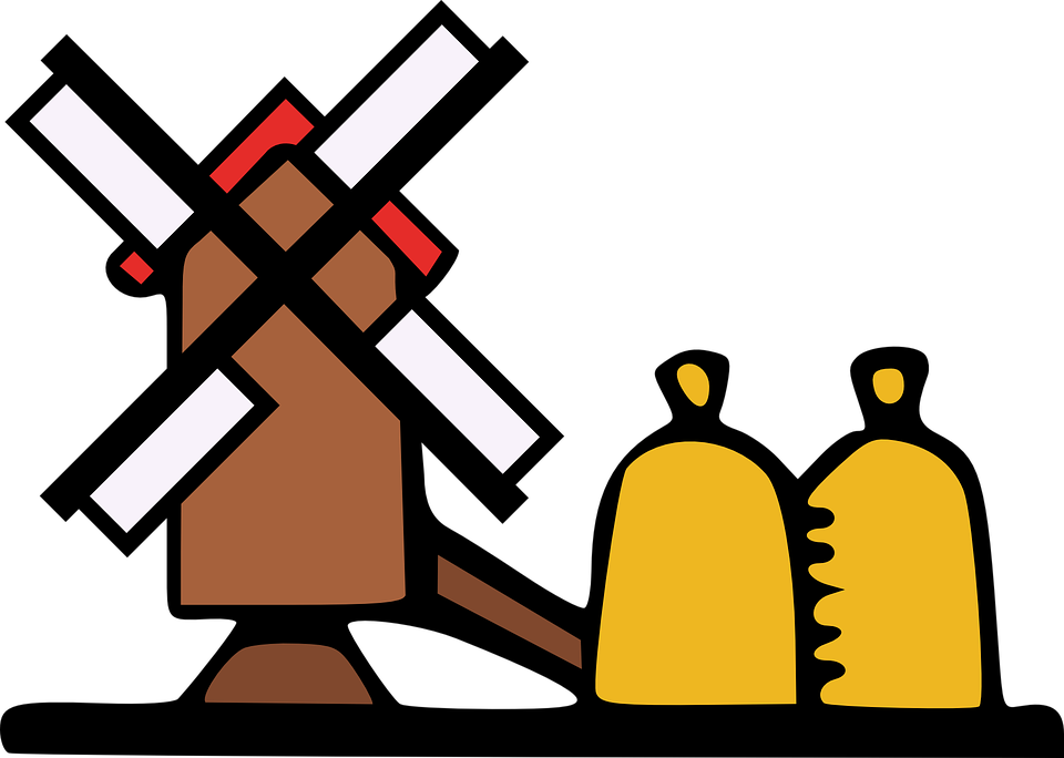 Free vector graphic: Windmill, Air, Power, Farm, Grind.