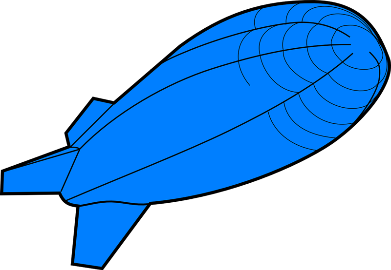 Free to Use & Public Domain Airship Clip Art.
