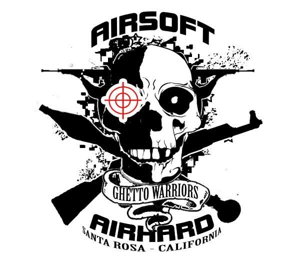 This is an example of a very modern airsoft logo which would.