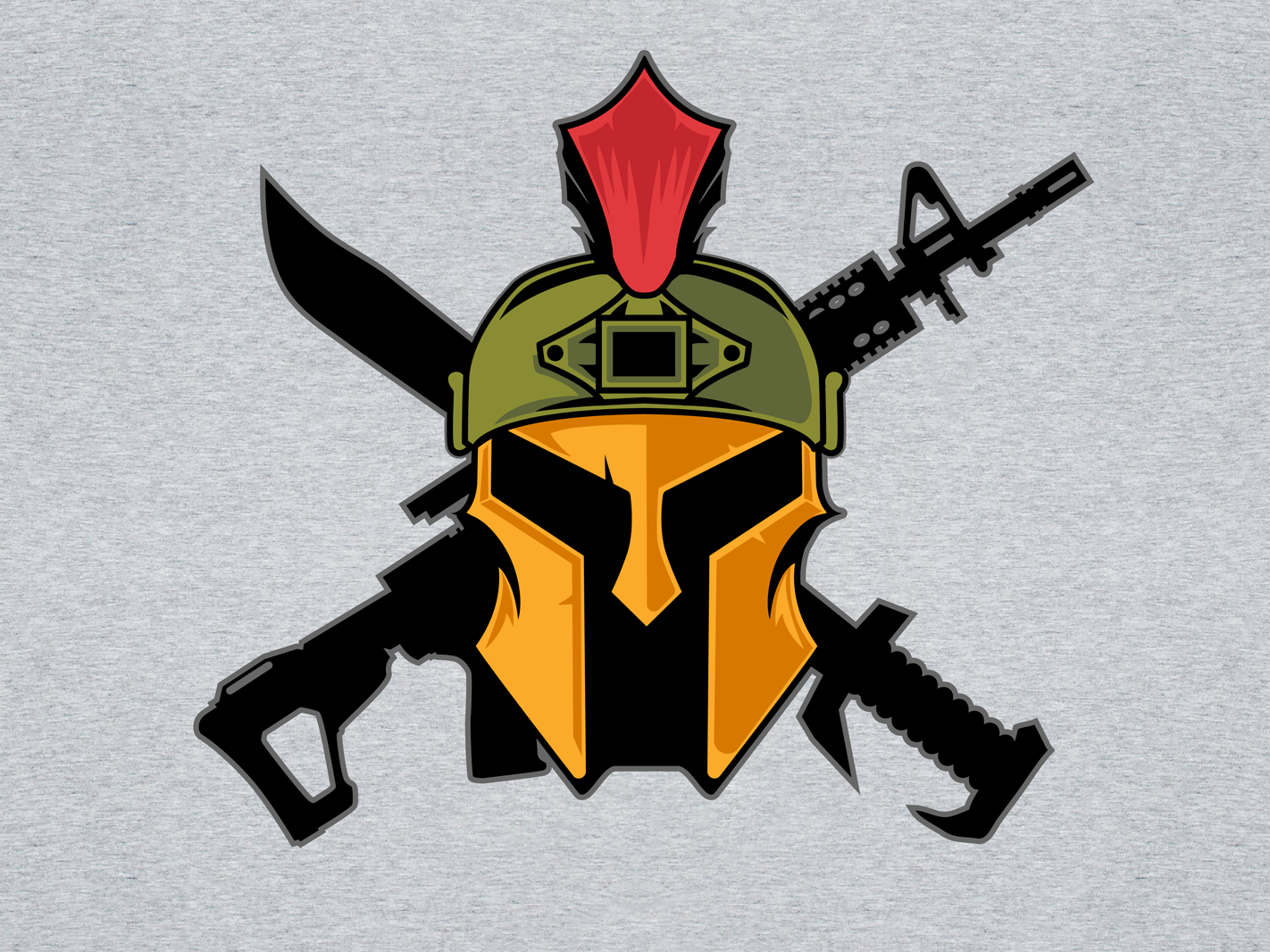 Airsoft Spartan Logo Art by ASik on Dribbble.