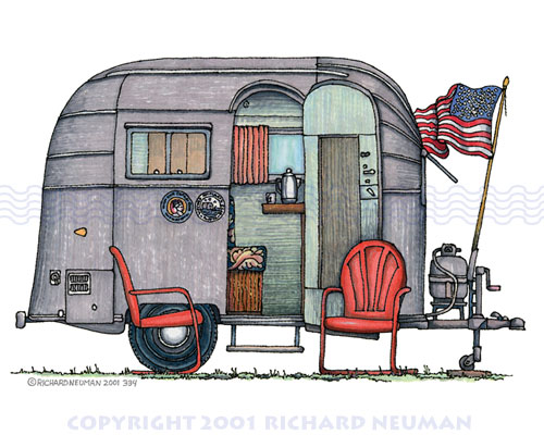 Gallery For > Airstream Clipart.