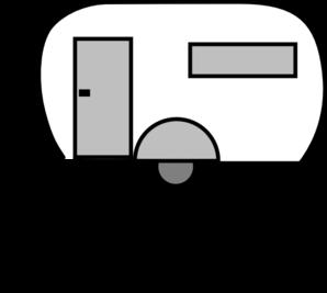 Airstream trailer clipart.
