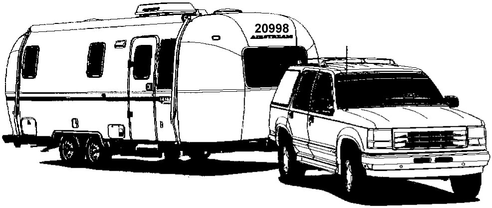 Airstream clipart 3 » Clipart Station.