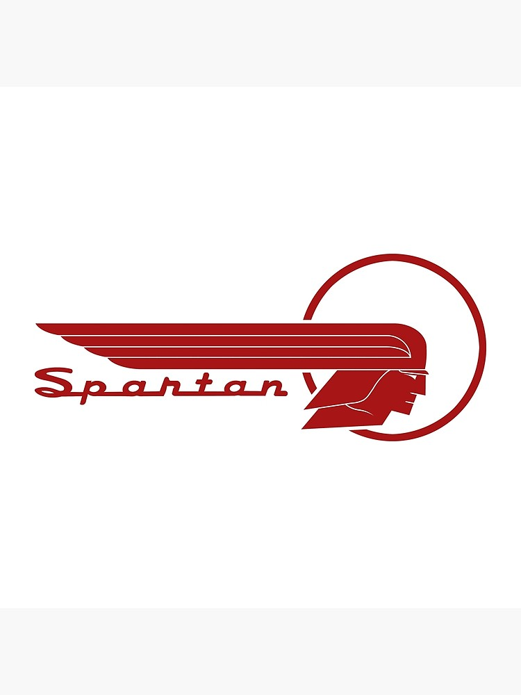 Spartan Trailer Company, Caravan, Camp Trailer, Airstream, Logo, Vintage.