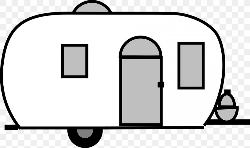 Caravan Campervans Trailer Airstream Clip Art, PNG.
