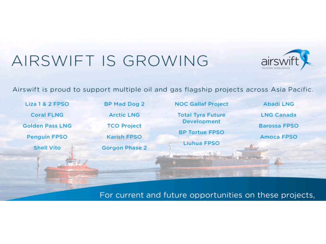 LNG, FPSO, FLNG Project Jobs @ Airswift.