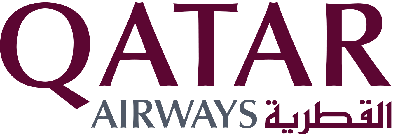 Qatar Airways Logo transparent PNG.