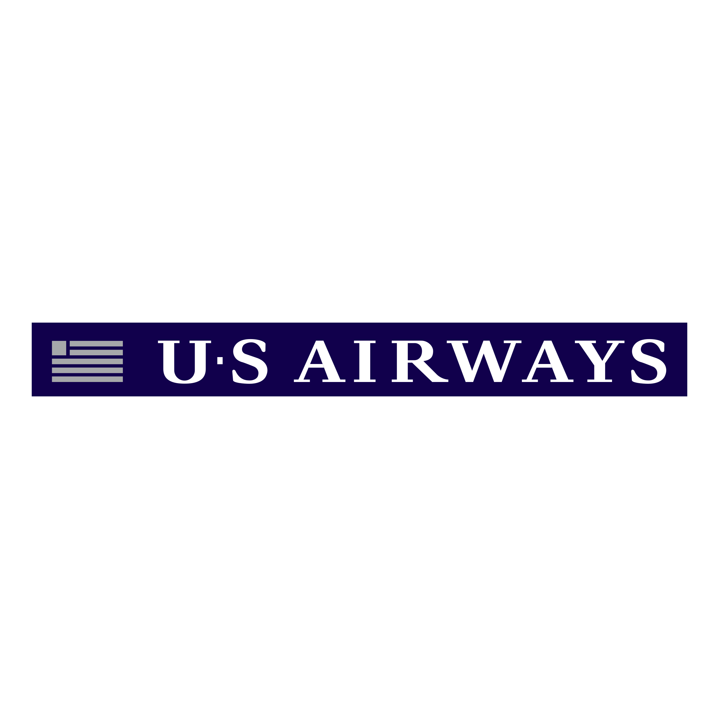 US Airways Logo PNG Transparent & SVG Vector.