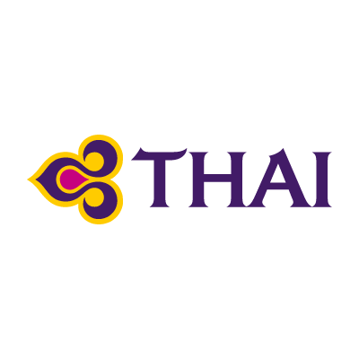 Thai Airways logo vector in .eps and .png format.