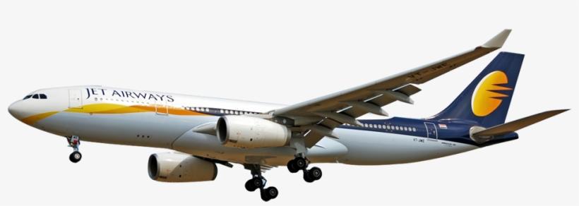 Jet Airways Plane Png Transparent PNG.