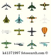 Airworthy Clip Art Vector Graphics. 10 airworthy EPS clipart.