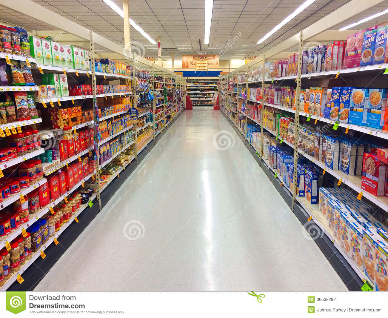 Clip Art Of Grocery Aisle Clipart.