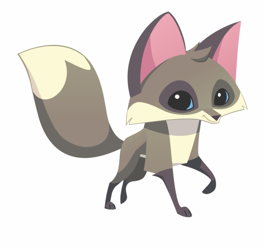 Animal Jam Grey Fox.